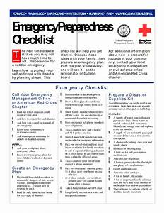 best photos of emergency disaster plan emergency family With emergency response checklist template