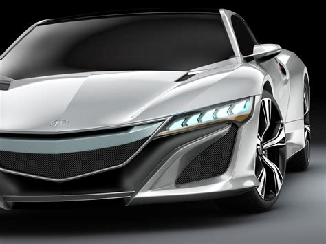 3d model car vehicle concept acura nsx