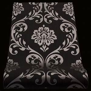 Tapete Barock Schwarz : barock tapete ornament klassik vliestapete schwarz metallic 13110 70 ~ Yasmunasinghe.com Haus und Dekorationen