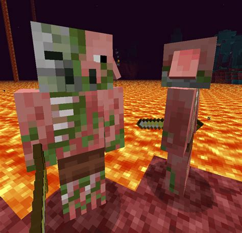 minecraft piglins texture zombified tried change resemble oc comments