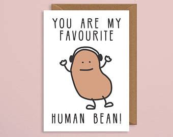valentines day gift ideas for pun birthday card etsy