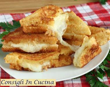 pane in carrozza ricetta consigli in cucina mozzarella in carrozza ricetta originale