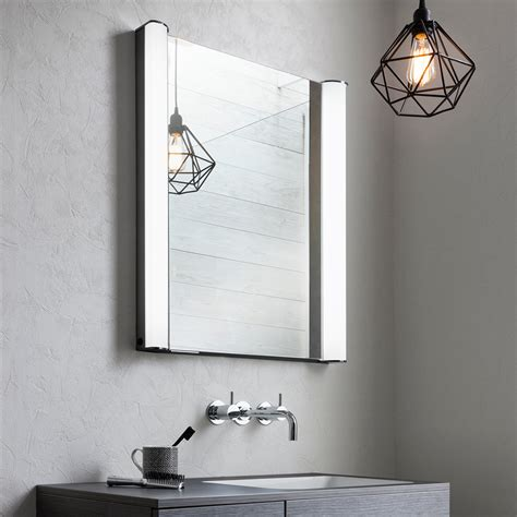 Mirrored Bathroom Cabinets by Duo 600 Illuminated Mirrored Cabinet In Duo Luxury