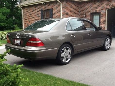 lexus sedan 2005 find used 2005 lexus ls430 base sedan 4 door 4 3l