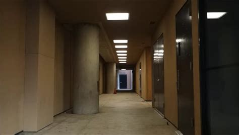 Corridor & Hallway : Scary Hallway Hotel Camera Travelling High Definition Pov