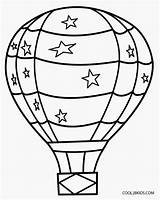 Pages Coloring Balloon Air Printable Balloons Colouring Sheets sketch template