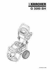 Karcher Pressure Washer Instructions Manual