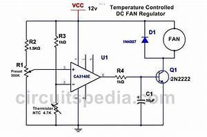 Thyristor Control Of Dc Motor Circuit Diagram