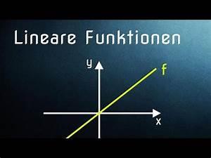 Steigung Lineare Funktion Berechnen : f02 lineare funktionen einfache einf hrung youtube ~ Themetempest.com Abrechnung