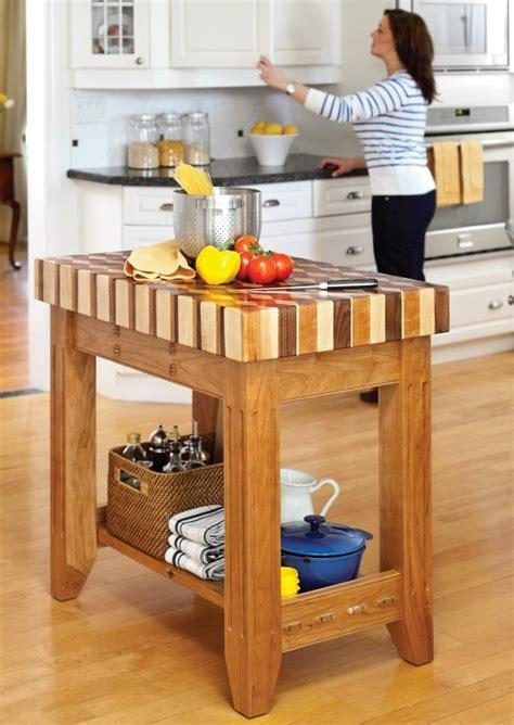 petit ilot cuisine fabriquer un îlot de cuisine 35 idées de design créatives