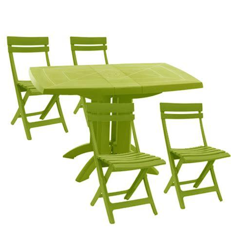 chaises de jardin plastique pas cher castorama chaise de jardin 4 table de jardin pas cher table de jardin en plastique vert anis
