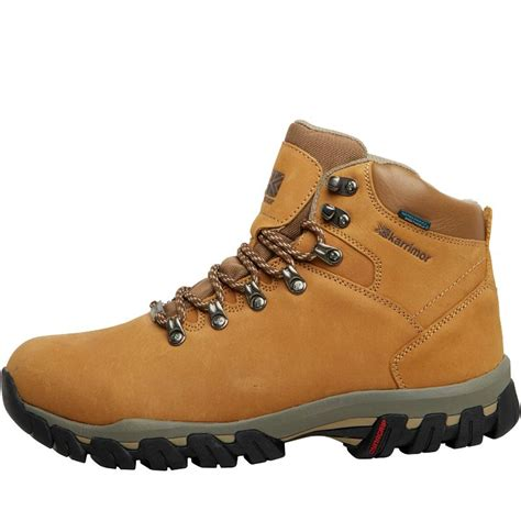 karrimor brown buy karrimor mens mendip 3 weathertite hiking boots brown