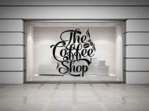 coffee shop quote vinyl wall decal coffee lettering wall With coffee letters for wall