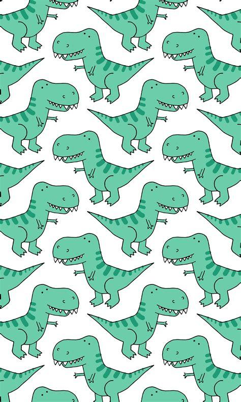 iphone xs case  rex dinosaur pattern patttrex