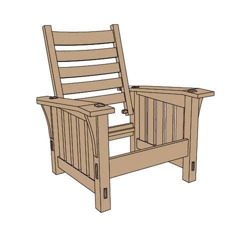 stickley   slant arm morris chair plansreadwatchdocom
