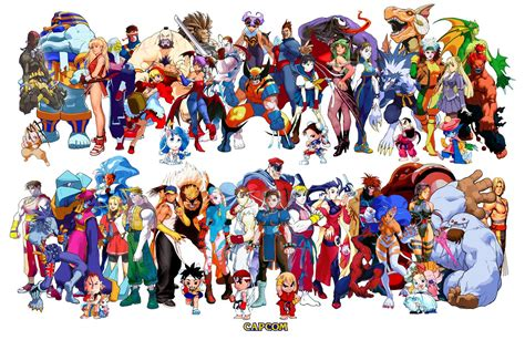Street Fighter Characters Wallpaper Wallpaper Wide Hd