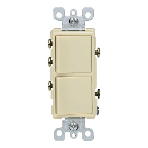 Leviton Decora Amp Way Combination Switch Ivory