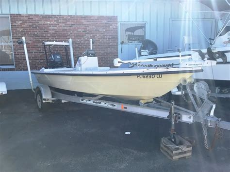 Used Flats Boats For Sale In Fl by 2002 Used Maverick Flats Fishing Boat For Sale 16 400