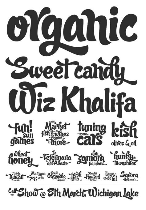 candy script font family sudtiposcom