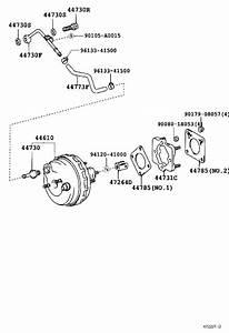 Toyota Sequoia Power Brake Booster  Brakes  Suspension