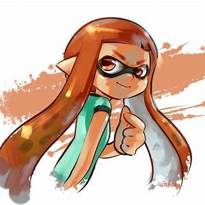 Splatoon seems to be developing quite the fan art ...