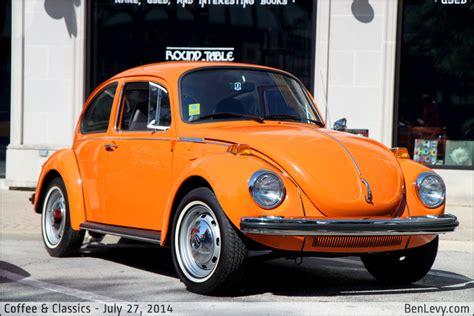 orange vw beetle benlevycom