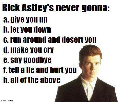 Rick Astley Meme - understanding the internet meme back seat gaming