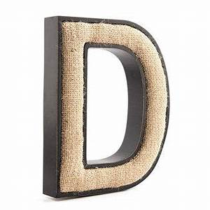 wood letters burlap and letters on pinterest With burlap letters hobby lobby
