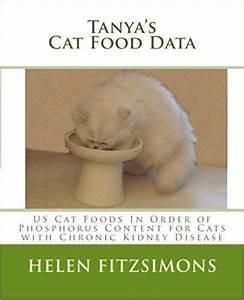 Tanya U0026 39 S Cat Food Data  Us Foods In Order Of Phosphorus