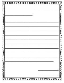friendly letter withwithout labels letter writing