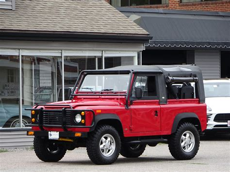 land rover defender convertible 1994 land rover defender 90 convertible copley motorcars