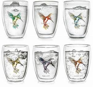 Tee Im Glas : creano thermo glas 6 er set doppelwandiges tee glas latte macchiato glas hummi online ~ Markanthonyermac.com Haus und Dekorationen