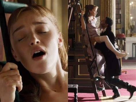 Bridgerton Star Phoebe Dynevor Says The First Scene She