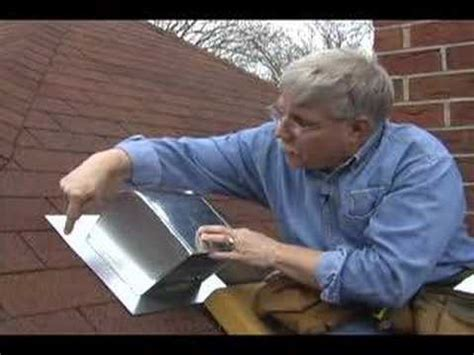 roof flashing  bathroom fans youtube