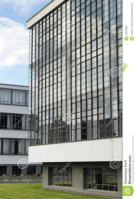 bauhaus dessau editorial photo image of architect