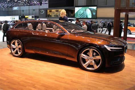 volvo concept estate  geneva motor show video