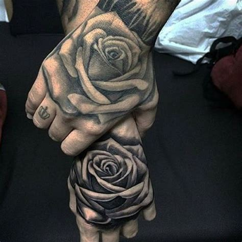 totally awesome black rose tattoo   inspire
