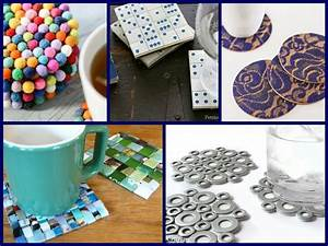 30 diy coasters decorating ideas handmade home decor for House decoration ideas handmade