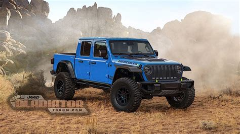 Ford Raptor-fighting Jeep Gladiator Hercules Is Under