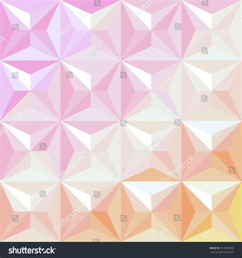 Abstract Pattern Background Pink Colors Vector Stock Color Geometric Background Triangles Abstract Vector Stock