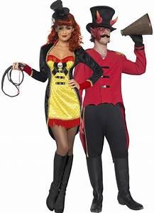 Halloween Paar Kostüme : kost m f r zirkusdirektorenpaar halloween paarkost me und g nstige faschingskost me vegaoo ~ Frokenaadalensverden.com Haus und Dekorationen