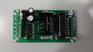 Switching Power To Stepper Motor Drive Using Relay And