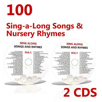 100 childrens singalong songs favourite nursery 729 | 100 Childrens Sing along Songs 2 CDs Young Kids