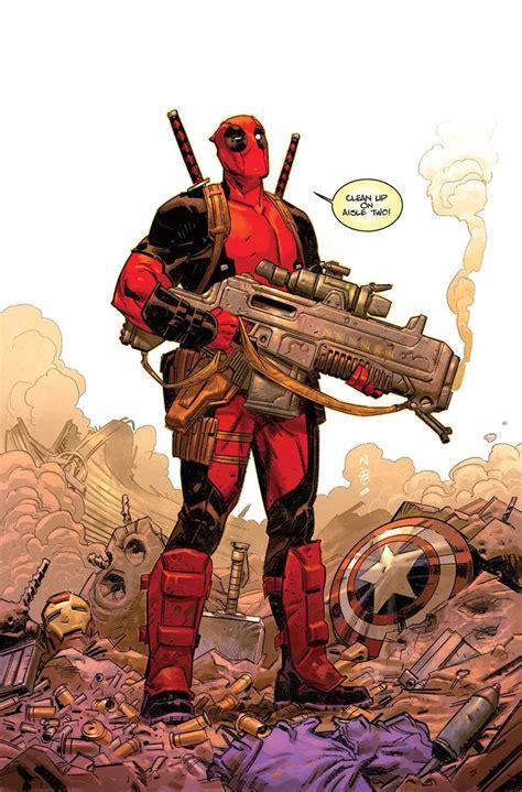 Marvel Comics & June 2018 Solicitations Spoilers Deadpool