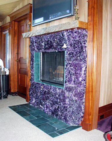 amethyst fireplace nuts gemstones   sacred