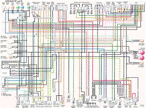 Gsxr 750 Wiring Diagram by 1988 Suzuki Gsx 600 Coil Wiring Diagram Wiring Data