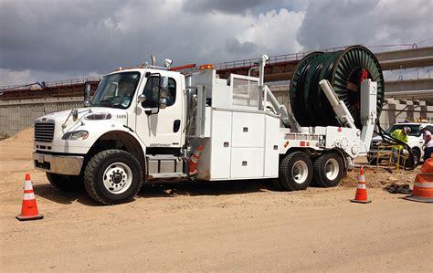 hub drive cable puller dejana truck utility equipment