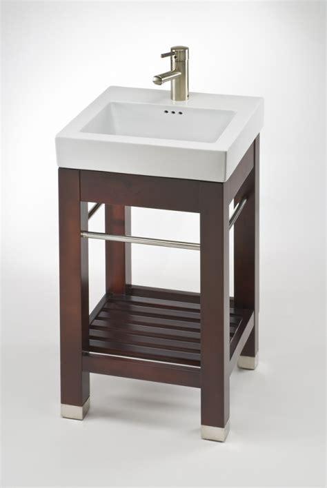 modern console small bath vanity  sink