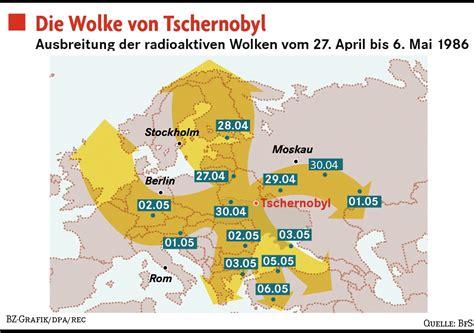 Radioaktivität Deutschland Karte