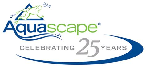 Aquascape Logo by Aquascape Celebrates 25 Years In The Industry Pond Trade